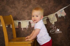 Happy Birthday Mr Andrew | Palatine Custom Baby Photography ~ Cake Smash!
