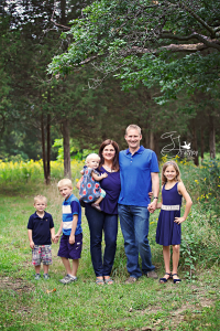 Happy Family, perfect fun! | Lake Zurich Family Photographer