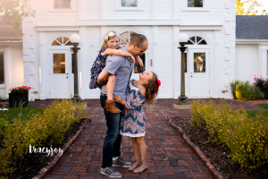 Three Girls & their Guy – Lake Zurich Family Photography